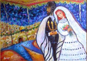 Photo: http://fineartamerica.com/featured/jewish-wedding-romaya-puchman.html